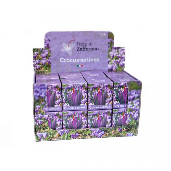 Crocus Sativus Countertop Display Box